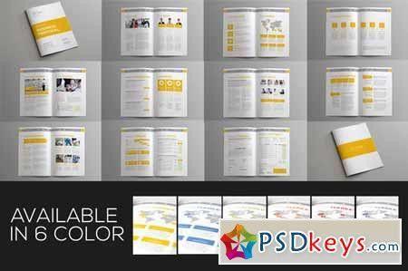 Jogja Simple Proposal Template 123880 » Free Download Photoshop ...