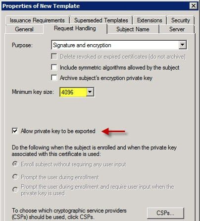 How to create custom Microsoft CA SSL certificate templates ...