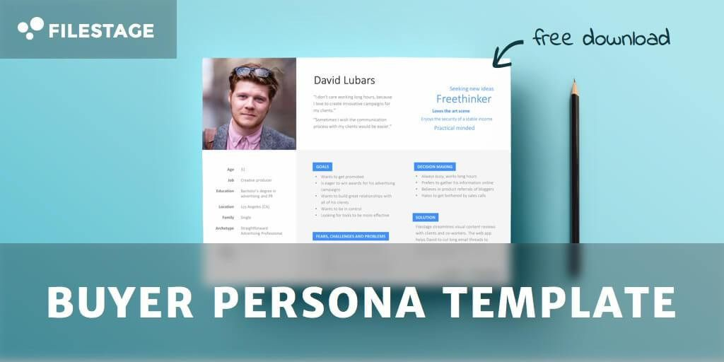 Effective Buyer Persona Template - Free Download | Filestage Blog
