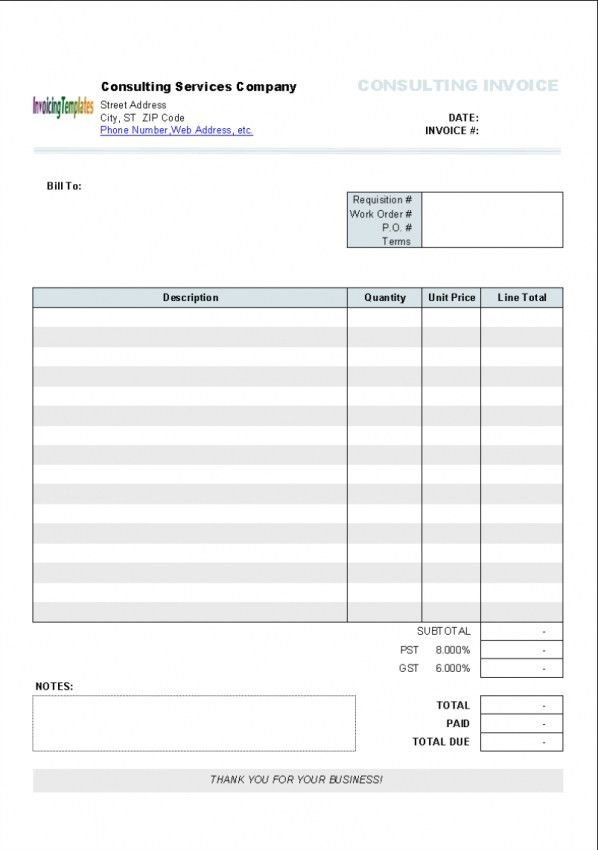 Word Invoice Template Mac | invoice sample template