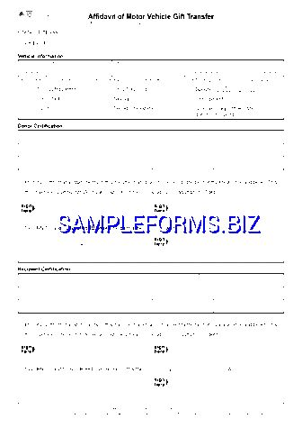 Texas Affidavit Form templates & samples