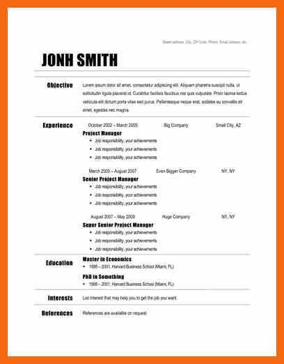 sample resume template free resume examples with resume writing ...