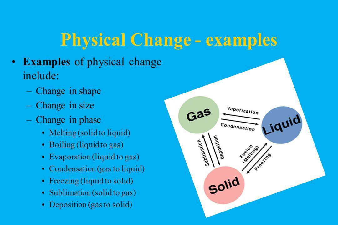 Notes 1-2 Part 2 Chemical Properties Physical Changes Chemical ...