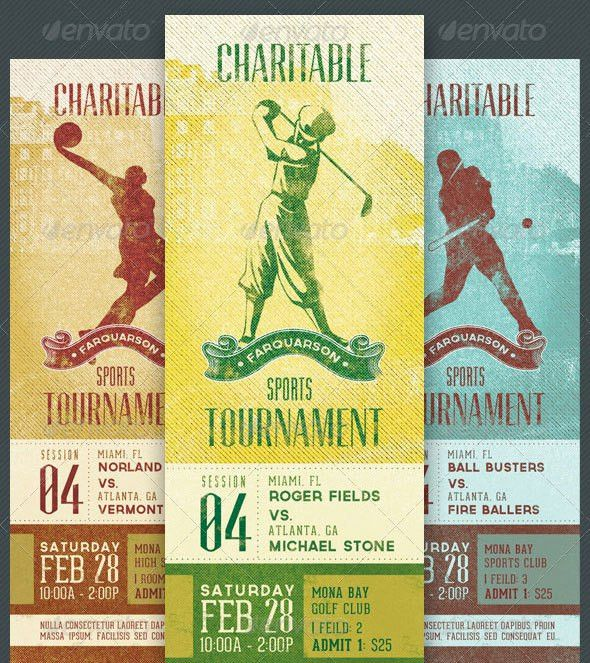 25 Awesome Ticket Template Designs | print | iDesignow