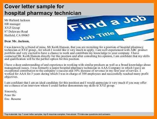 9+ cover letter for pharmacy technician | hostess resume