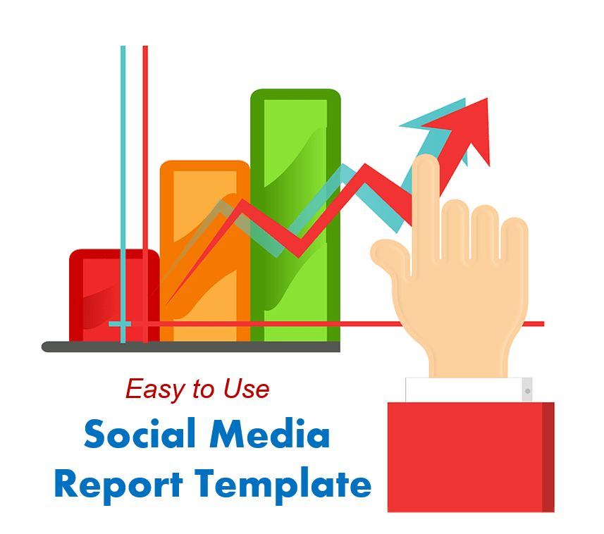 Easy-to-Use Social Media Report Template to Impress People