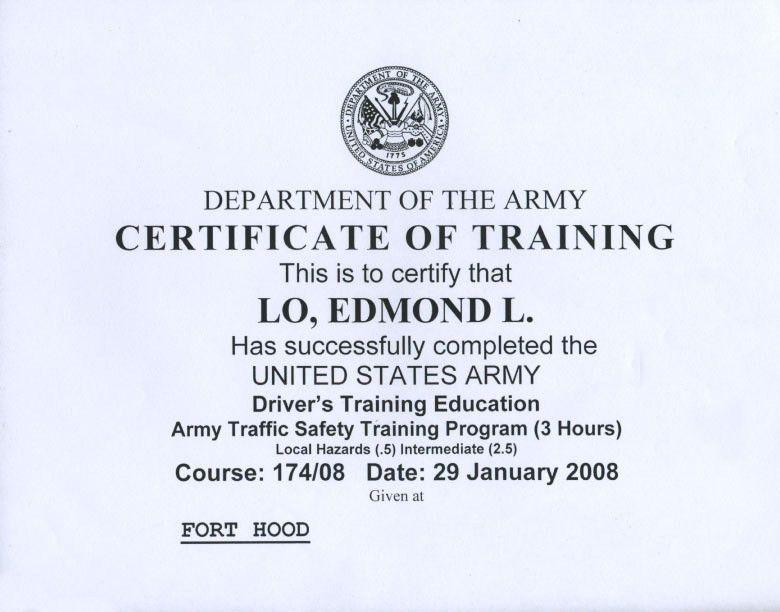 Awards and Certificates   Memories of Edmond Lo