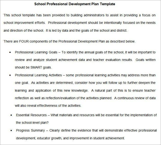 School Development Plan - Free Word Documents Download | Free ...
