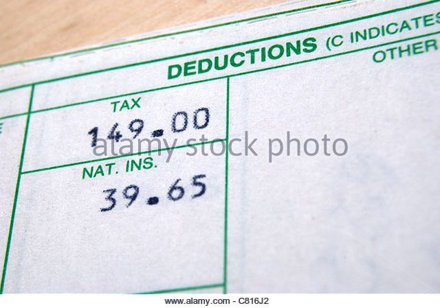 Pay Slip Stock Photos & Pay Slip Stock Images - Alamy