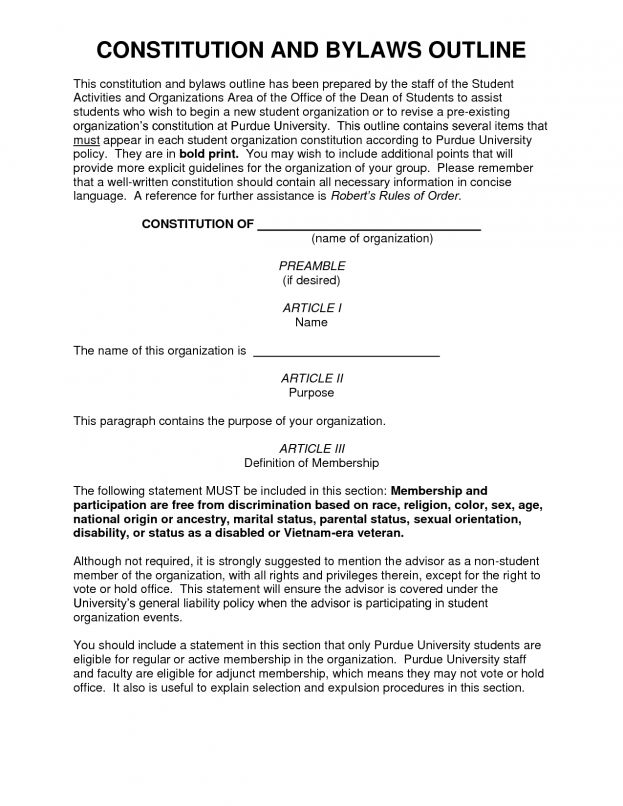 Corporation bylaws template 9536236 - hitori49info