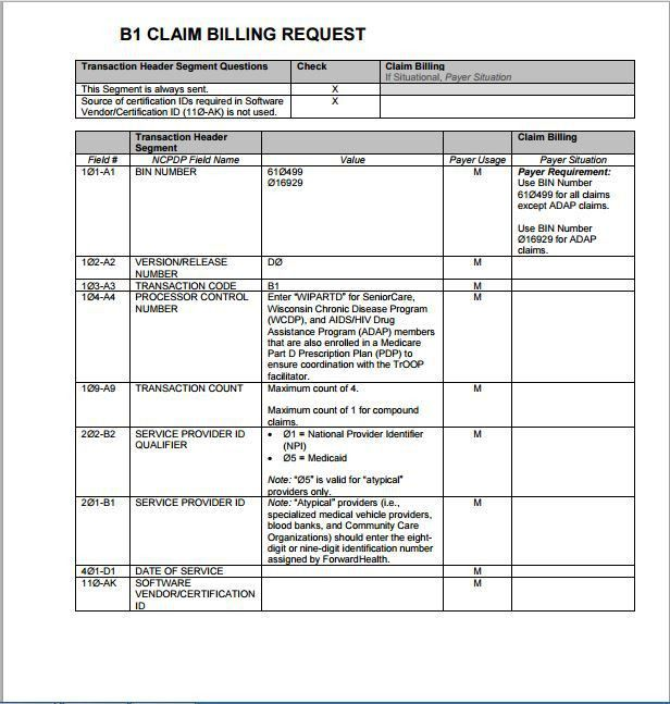 Sample Medicare Claim Form Templates | Printable Medical Forms ...