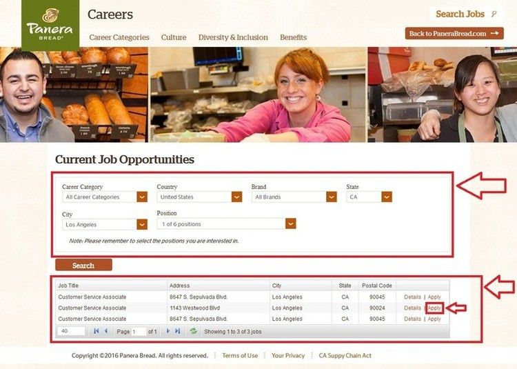 How to Apply for Panera Bread Jobs Online at panerabread.com/jobs
