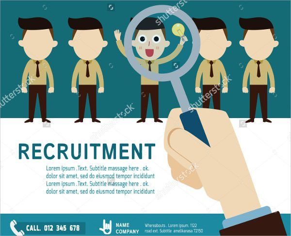 Job Flyer - 9+ Printable PSD, AI, Vector EPS Format Download ...