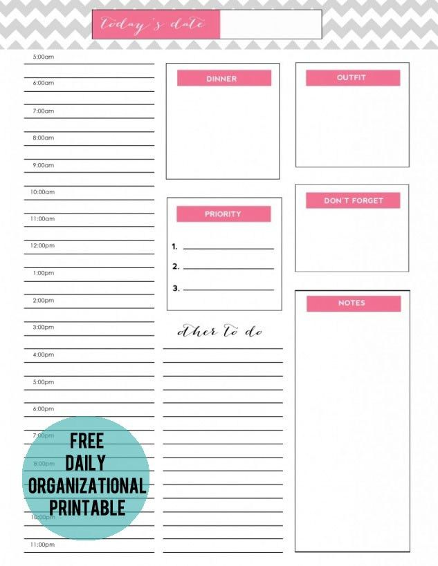 to do list {free printable} » jenny collier blog