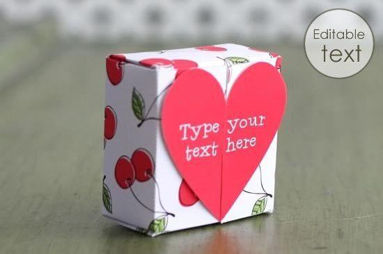 Free Gift Box Templates to Download, Print, & Make