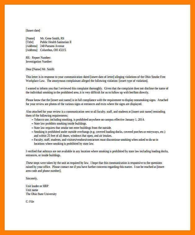 5+ allegation letter | protect letters