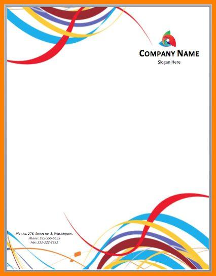 8+ word letterhead template | letter format for