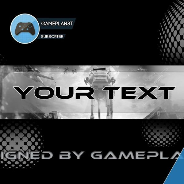 Pro Gaming Youtube Template Banner #2 – Youtube within Banner ...