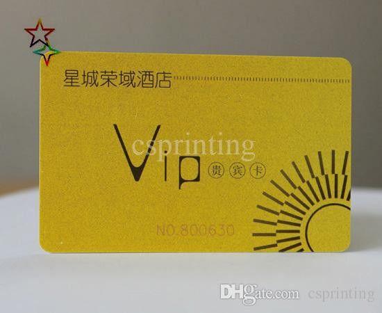 Free Design Plastic Card Printing, Print Gift Card, Membership ...