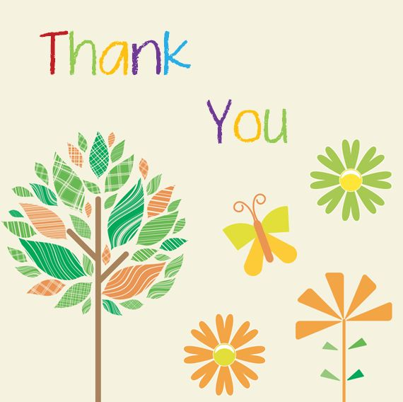 Thank You Card Template - 6 Beautiful Designs for Word