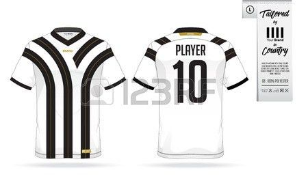 Sport T-shirt Or Soccer Jersey Template For Sport Club. Sportswear ...