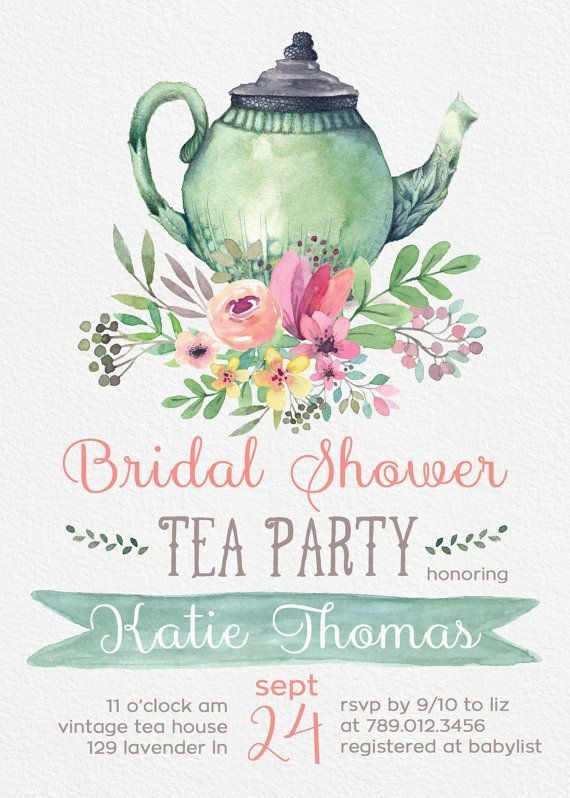 Top 25+ best Bridal shower invitations ideas on Pinterest ...