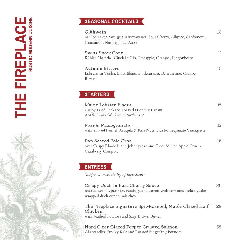 Holiday Menu Templates from iMenuPro - more than just templates