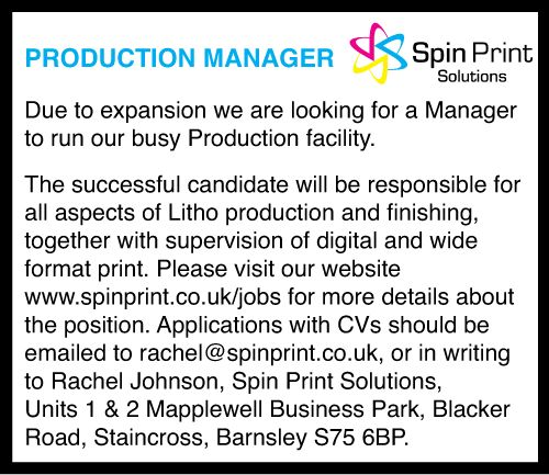Jobs - Spin Print Solutions