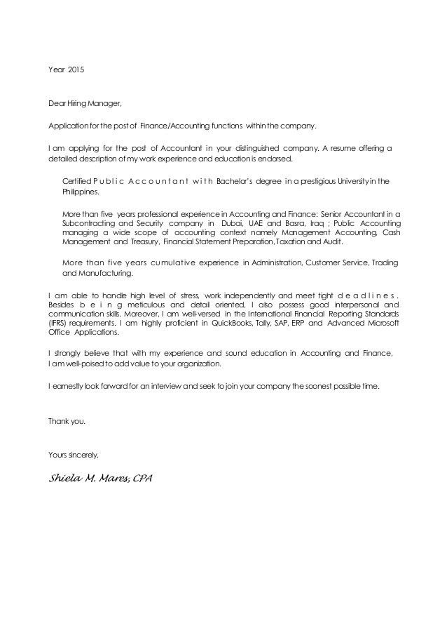 Ishi Mares CV & Cover Letter