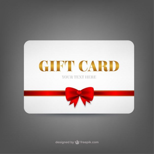 Gift card template Vector | Free Download