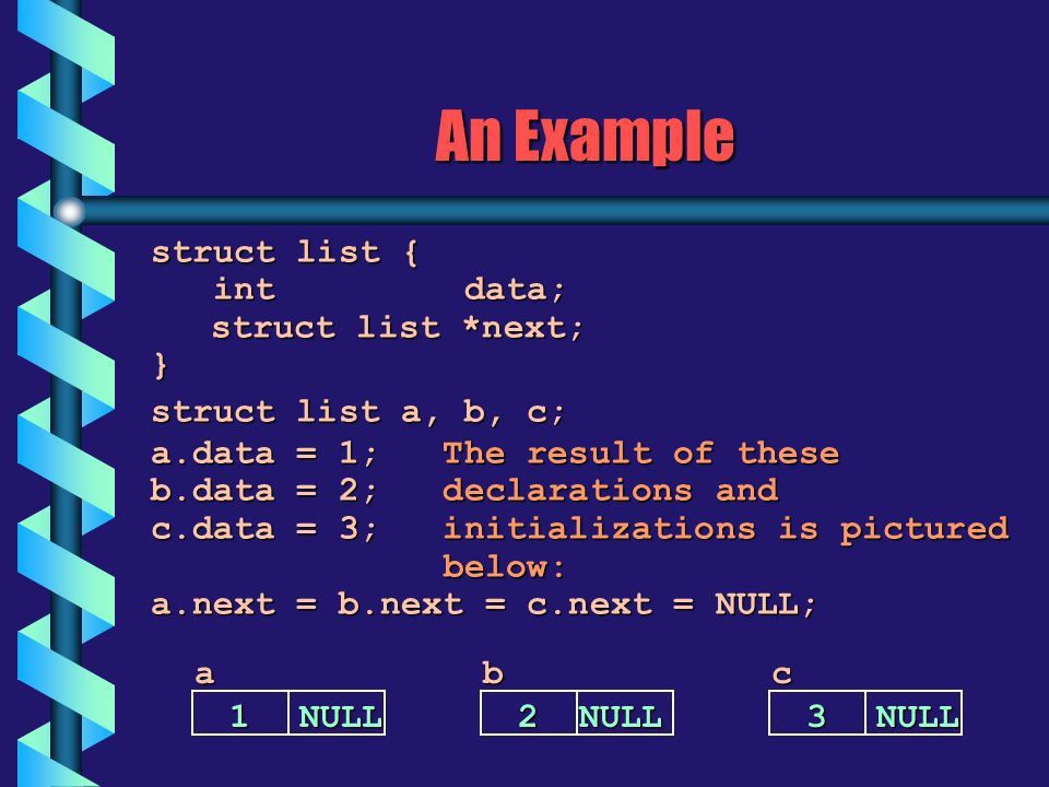 Lecture 25 Self-Referential Structures Linked Lists - ppt download