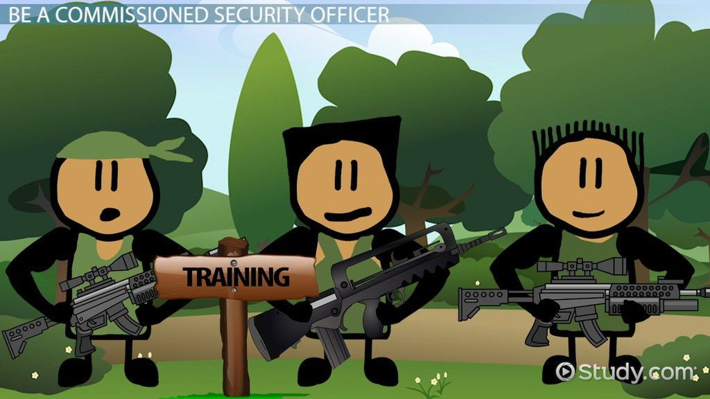 How to Become a Commissioned Security Officer