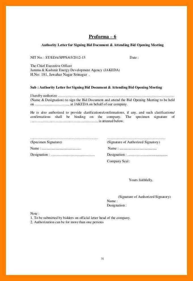 7+ specimen signature letter format   cv for teaching