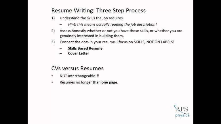 How To Write Effective Resume Effective Resume Writing How To