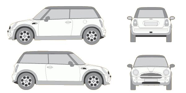 Free Car Vector Outlines   BittenNails Design - Mobile App Design ...