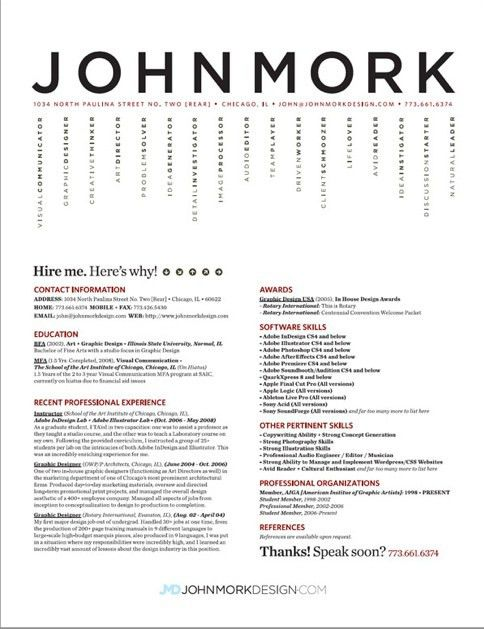17 best Clean Resumes images on Pinterest | Resume layout, Resume ...