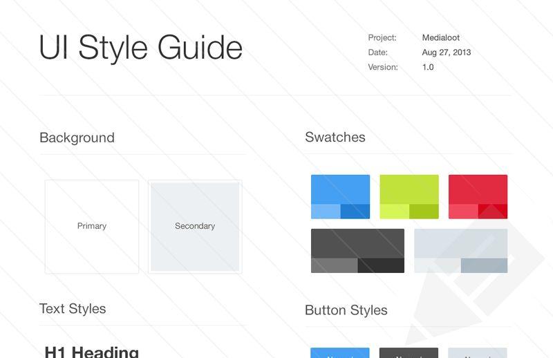 Style Guide Template | tristarhomecareinc