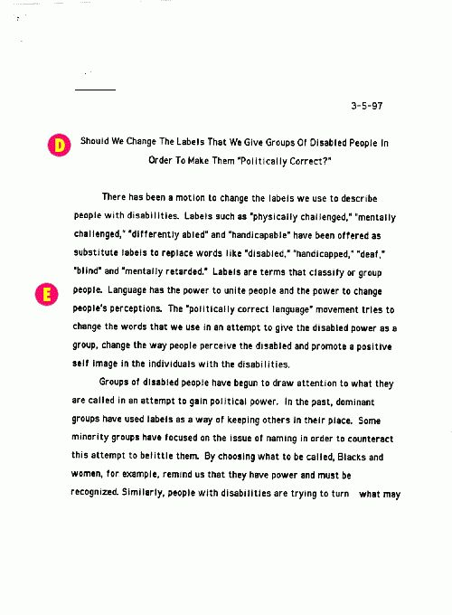 Persuasive Essay Example High School How To Write A Good Essay For .