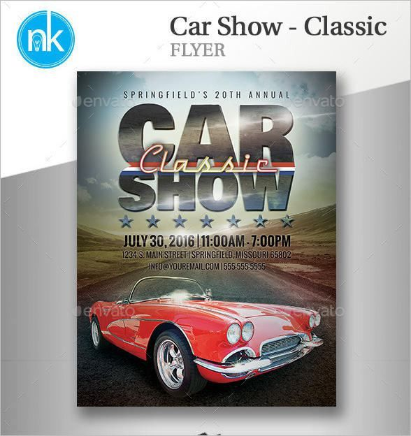 Car Show Flyer Templates - Free Images, PSD Documents | Creative ...