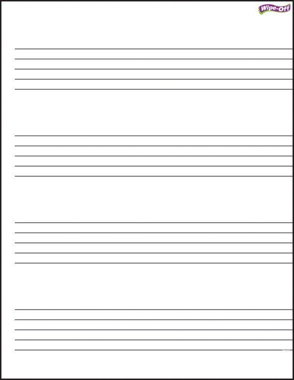 Music Staff Paper Clip Art (50+)