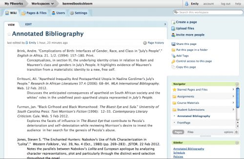 Annotated bibliography example for mla