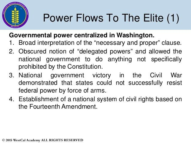 Slide 8 WestCal Political Science 1 - US Government 2015-2016