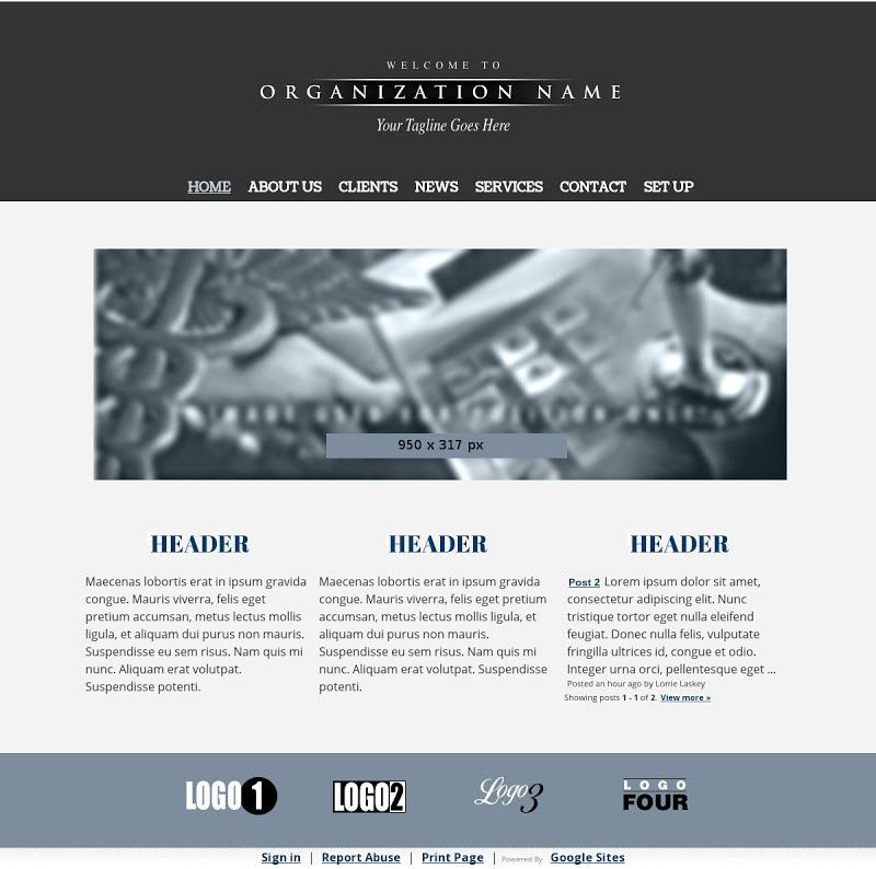 Google Sites Templates by Weby - Sites SOS Templates - Google+