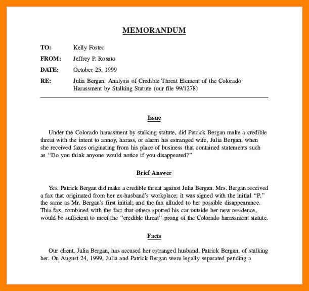 7+ legal memorandum format template   day care receipts