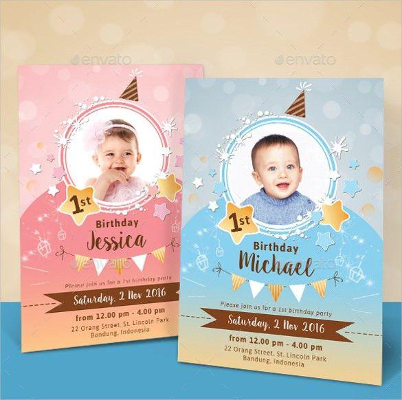 30+ Kids Birthday Invitation Templates – Free Sample, Example ...