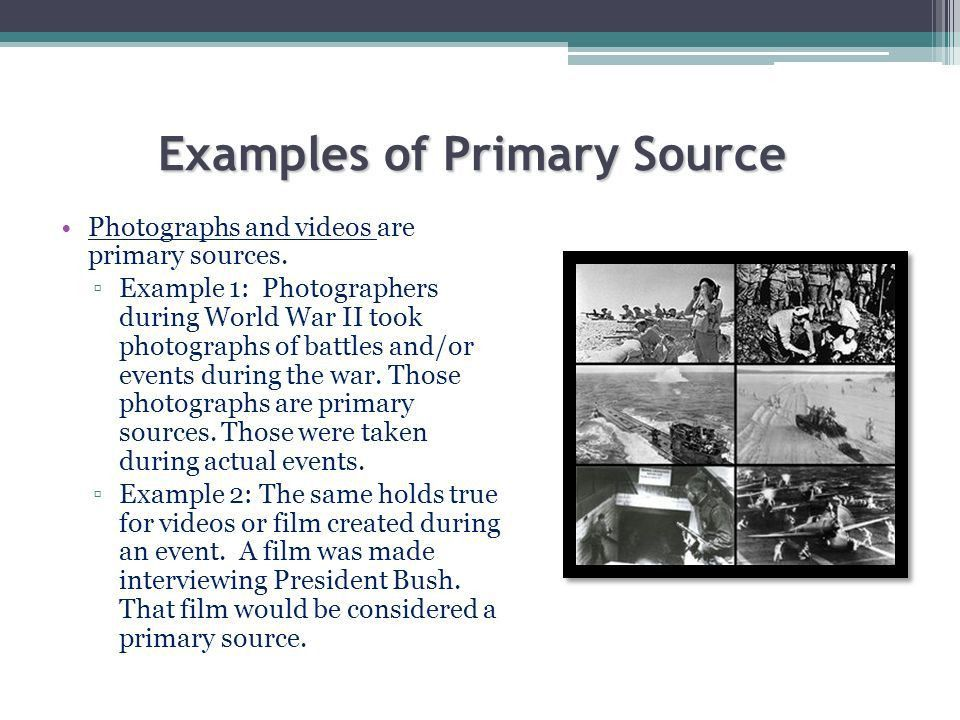 Primary and Secondary Sources What are they?. Primary sources A ...