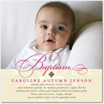 christening tradition baptism invitation cards magnificent ...