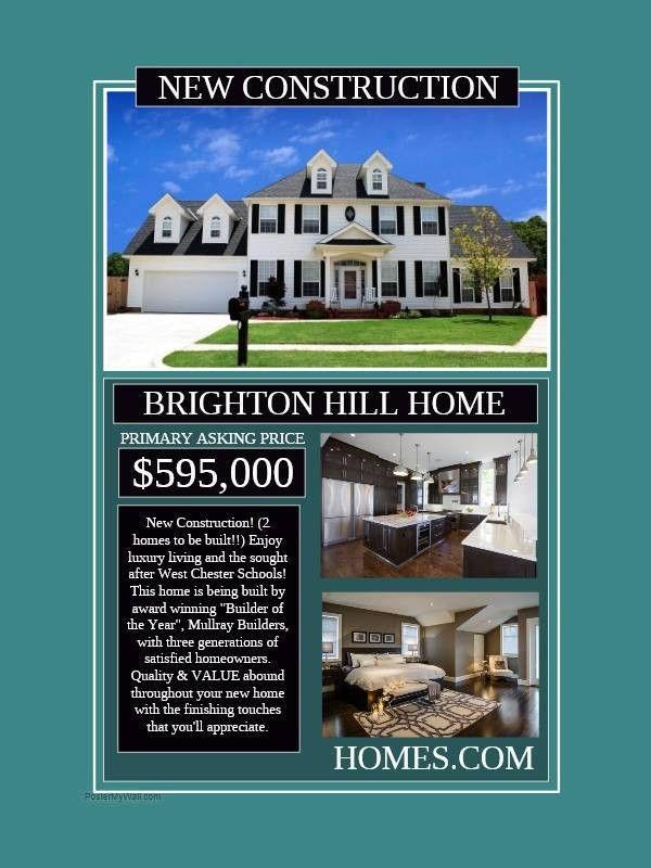 20+ Real Estate Flyer Designs - PSD, Vector EPS, AI Illustrator ...