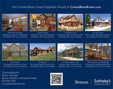 Seller Agency | Channing Boucher's Crested Butte Real Estate Guide