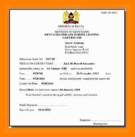 7+ school certificate format | simple cv formate